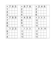 Tabellenrechnen - Nachbaraufgaben