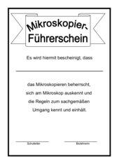 Mikroskopier-Führerschein