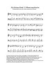 Schweizer Weihnachtslieder rätoromanisch und aus dem Tessin