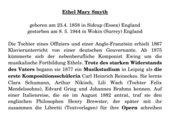 Ethel Smyth - Informationen über die englische Komponistin