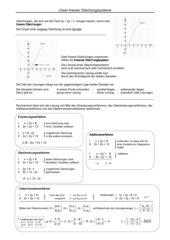 Zusammenfassende Darstellung der Lösungsverfahren