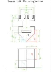 Konstruktionsvorlagen für Technisches Zeichnen/CAD