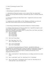 Bach 2stimmige Invention C-Dur Aufgaben mit Lösungen