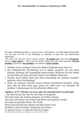 Das Dreiständebild von Johannes Lichtenberger