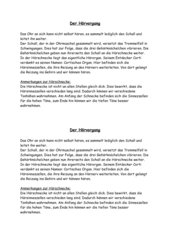 Der Hörvorgang (Infotext)