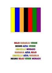 Folien: Los colores