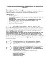 Gruppenpuzzel Grundherrschaft Mittelalter/  Lösung