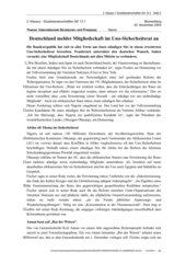 Klausur Sozialwissenschaften GK 13 - Internationale Politik - UNO