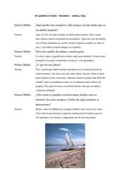 Varadero antes y hoy : Einführung des Imperfecto