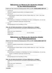 Maßnahmen zur Werbung der deutschen Arbeiter für den Nationalsozialismus