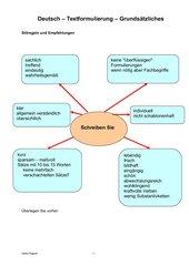 Grundsätzliches zur Textformulierung