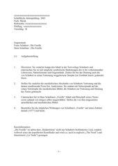 Schubert, Forelle - Original und in der Parodie von Hans Scheibner