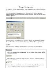 Einzüge - Absatzformate bei Word