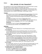 Anleitung: Wie schreibe ich eine Hausarbeit