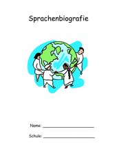 Sprachenbiografie- Teil des Portfolios Teil1 (GS)