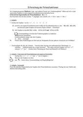 Eigenschaften von Potenzfunktionen mit Matheass erforschen