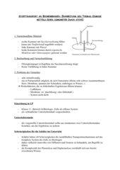 OSMOSE-Versuch und Unterrichtseinheit zum Thema