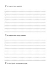 Evaluation: Schüler bewerten Unterricht