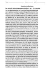 Tacitus - Das Leben der Germanen