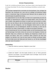 Tacitus über die germanische Thingversammlung -> Rollenspiel