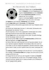 Die Geschichte des Fußball