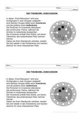 Informationsblatt zur Fishbowl-Diskussion