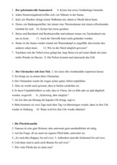 Dosendiktate Klasse 5