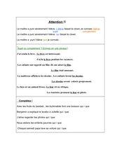 Qui - que -- Funktion der Relativpronomen im Satz