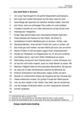 Übungs-/Nachschrifttexte zum Thema s-Laute