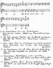 Das Arbeitshaus - Liedsatz mit Blockflöten