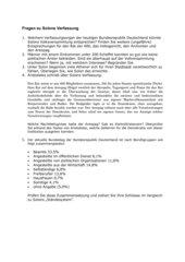 Fragen zu Solons Verfassung