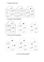 Umkehraufgaben für Klasse 1