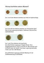 Woraus bestehen unsere Münzen ?