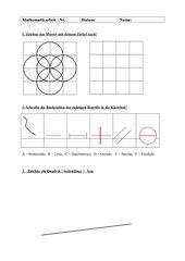 Mathetest Geometrie