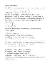 mögl. Herleitung ideales Gasgesetz Zusammenfassung