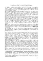 Die Reformation und ihre Auswirkungen auf Kaiser und Reich