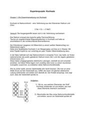 Kochsalz - Expertenpuzzle