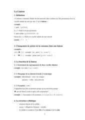La Liaison - Erklärung und Übungen