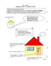 Aufgabenblatt Zeichnen in MSWord