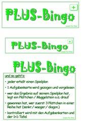 PLUS-Bingo...