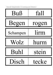 Spiel mit Sprache Substantive