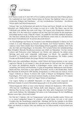 Biografie Carl Nielsen