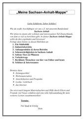 Meine Sachsen-Anhalt-Mappe