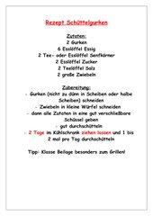 Rezept Schüttelgurken