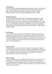 Rollenkarten Mittelalter