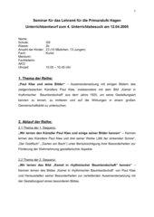 Paul Klee und seine Bilder