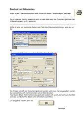Drucken von Dokumenten