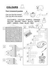 Colours - crossword puzzles