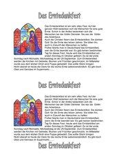 Feste im Kirchenjahr-Erntedankfest