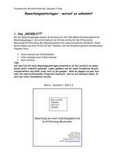 Checkliste Bewerbungsverfahren - Bewerbungen